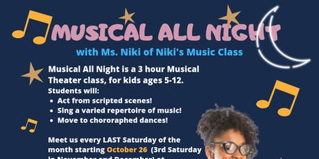 Musical All Night tickets
