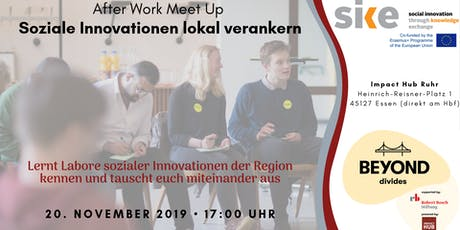 "AfterWork Meetup ""Soziale Innovationen lokal verankern"" Tickets"