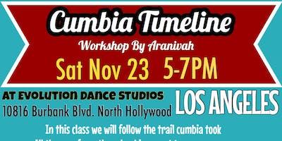 Cumbia Dance Timeline
