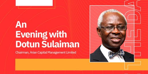 An Evening with Dotun Sulaiman