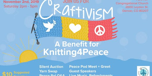 Craftivism: A Benefit for Knitting4Peace
