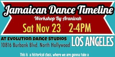 Jamaican Dance Timeline