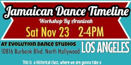 Jamaican Dance Timeline tickets