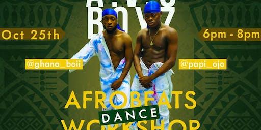 2019 BOTASAS AFROBEATS DANCE WORKSHOP