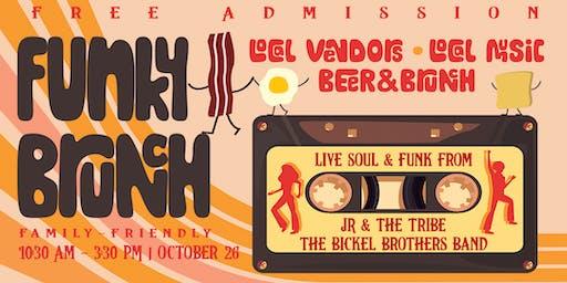 *Canceled* Funky Brunch & Market: Local Vendors, Live Music, Beer, & Brunch