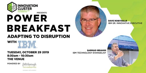 Power Breakfast: Adapting to Disruption with IBM