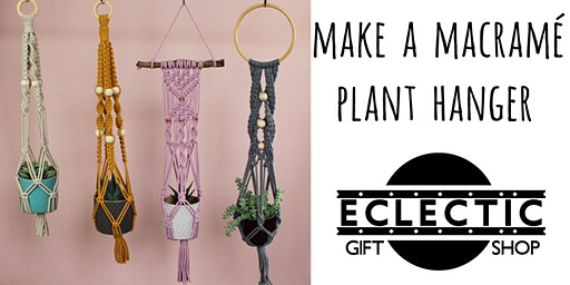 Make a Macramé Plant Hanger (Adults)