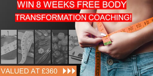 Win 8 Weeks Free Online Body Transformation Coaching Valued at £360