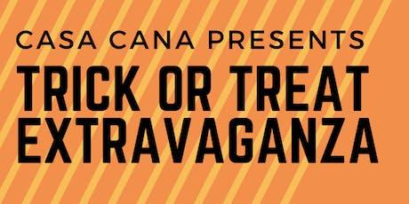 TRICK OR TREAT EXTRAVAGANZA @ CASA CAÑA tickets
