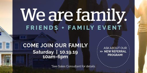 Washington We Are Family: Friends + Family Event