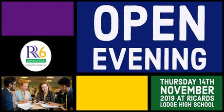RR6 Open Evening 2019 - Female Ticket - Option 1 - 5:30pm tickets
