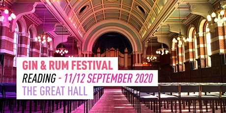 The Gin & Rum Festival - Reading  - 2020 tickets
