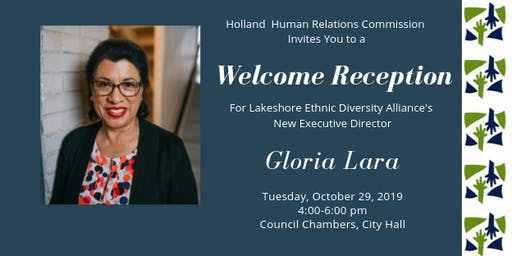 Welcome Reception for Gloria Lara, New Ex Director of LEDA