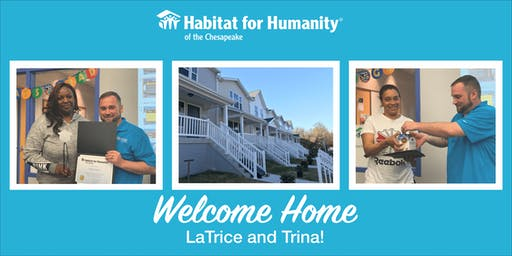 Habitat for Humanity's Welcome Home Celebration in Mt. Winans!