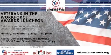 Veterans in the Workforce Awards Luncheon tickets