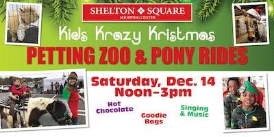 Kids Krazy Kristmas Petting Zoo & Pony Rides