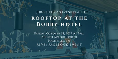 We|Out at the Rooftop at the Bobby Hotel tickets