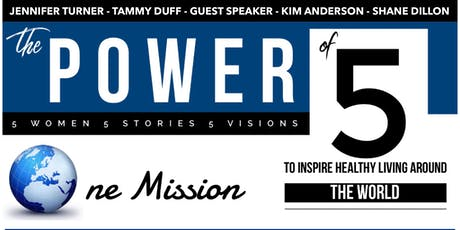 Power of 5:   Stories of Hope in Our Community tickets