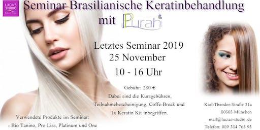 Workshop Brasilianische Keratinbehandlung mit Purah