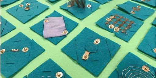 Electrostitches: Soft Sensors