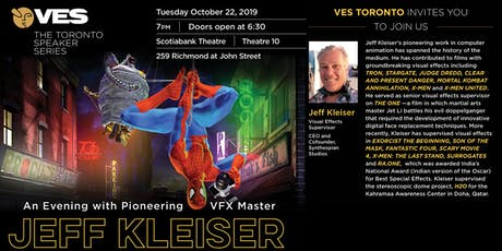 An Evening with Pioneering VFX Master Jeff Kleiser tickets