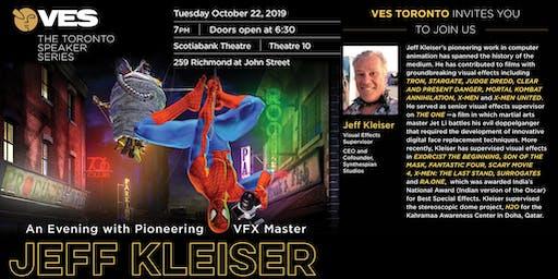 An Evening with Pioneering VFX Master Jeff Kleiser