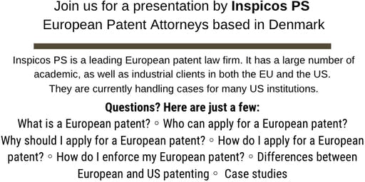 Inspicos PS - European Patent Attorneys Visit - By Invitation Only