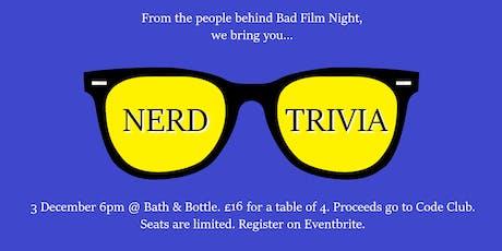 Nerd Trivia tickets
