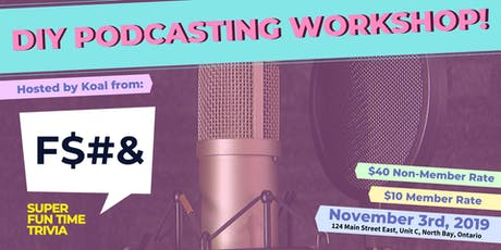 DIY Podcasting Workshop tickets