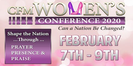 Can a Nation Be Changed - CFM Women's Conference 2020 tickets