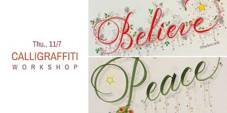 Calligraffiti  Workshop- Thu., 11/7 tickets
