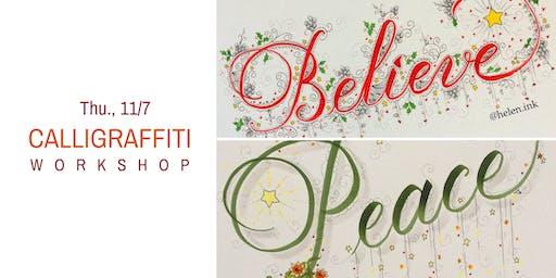 Calligraffiti  Workshop- Thu., 11/7