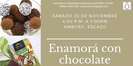 Enamorá con chocolate: taller de chocolatería