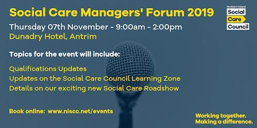 Social Care Managers' Forum - Dunadry Antrim