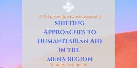 Shifting Approaches to Humanitarian Aid in the MENA Region tickets