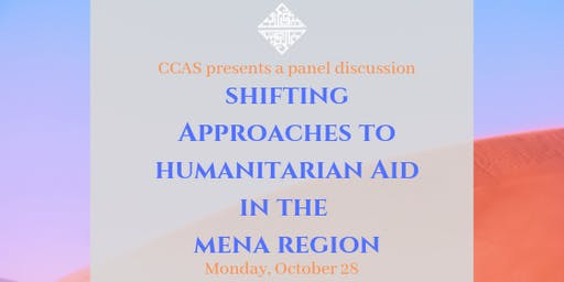 Shifting Approaches to Humanitarian Aid in the MENA Region
