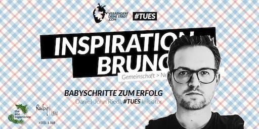 Inspiration Brunch - Babyschritte zum Erfolg #TUESmovement