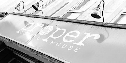 Ghost Hunt @ Proper Coffee, Margate