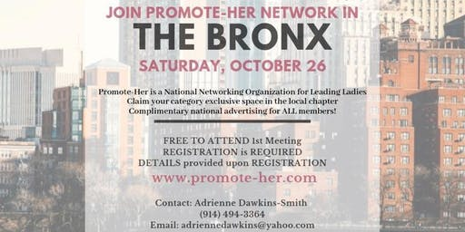 Promote-Her Bronx Chapter Meeting