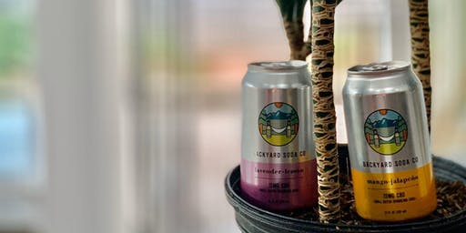 CBD Social Hours presents | Backyard CBD Soda tasting Event