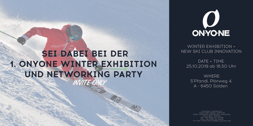INVITATION ONLY: ONYONE Pre-Launch Winter Exhibition
