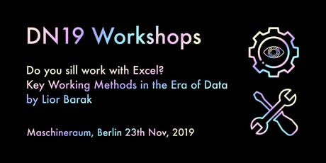 Workshop: Do you still work with Excel? Key working methods for future team tickets