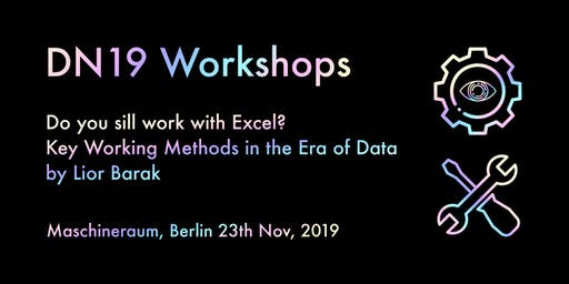 Workshop: Do you still work with Excel? Key working methods for future team
