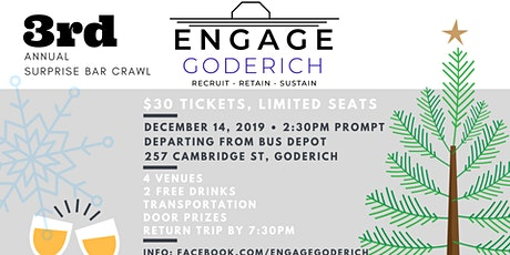 Surprise Beverage Tour - Engage Goderich 3rd Annual tickets