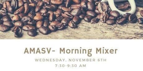 AMASV Morning Mixer- Roseville tickets