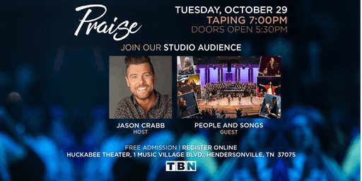 "TN - JENNIE RIDDLE/Praise & Worship Group, ""People & Songs"" hosted by JASON CRABB"