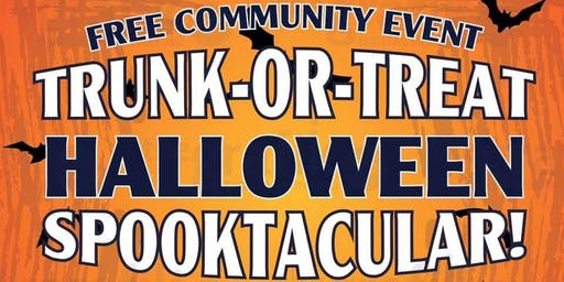 Trunk or Treat Spooktacular - FREE Community Event!