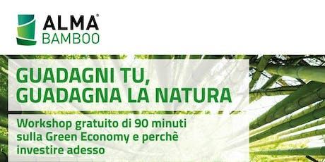 GR.E.EN - GReen Equity EcoNomy il tour di Alma Bamboo biglietti