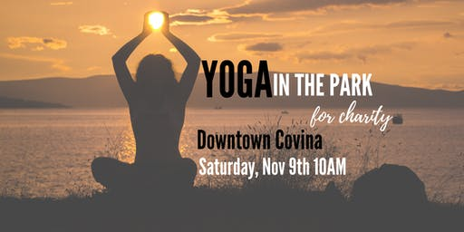 Yoga In The Park For Charity