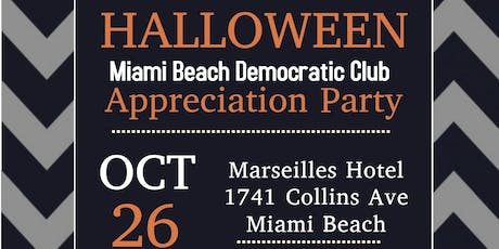 Miami Beach Democrats Halloween Party  tickets